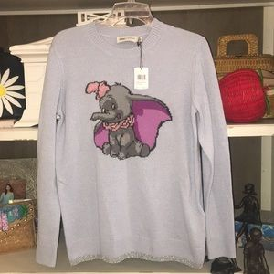NWT Disney x coach dumbo sweater small